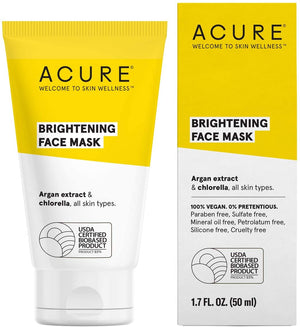 Acure Brightening Face Mask, 50 ml