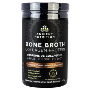 Ancient Nutrition Bone Broth Collagen Protein - Choc, 357 g