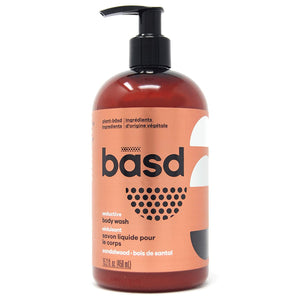 basd Body Wash - Seductive Sandalwood, 450 ml