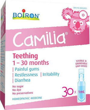Boiron Camilia Baby Teething , 30 x 1 ml