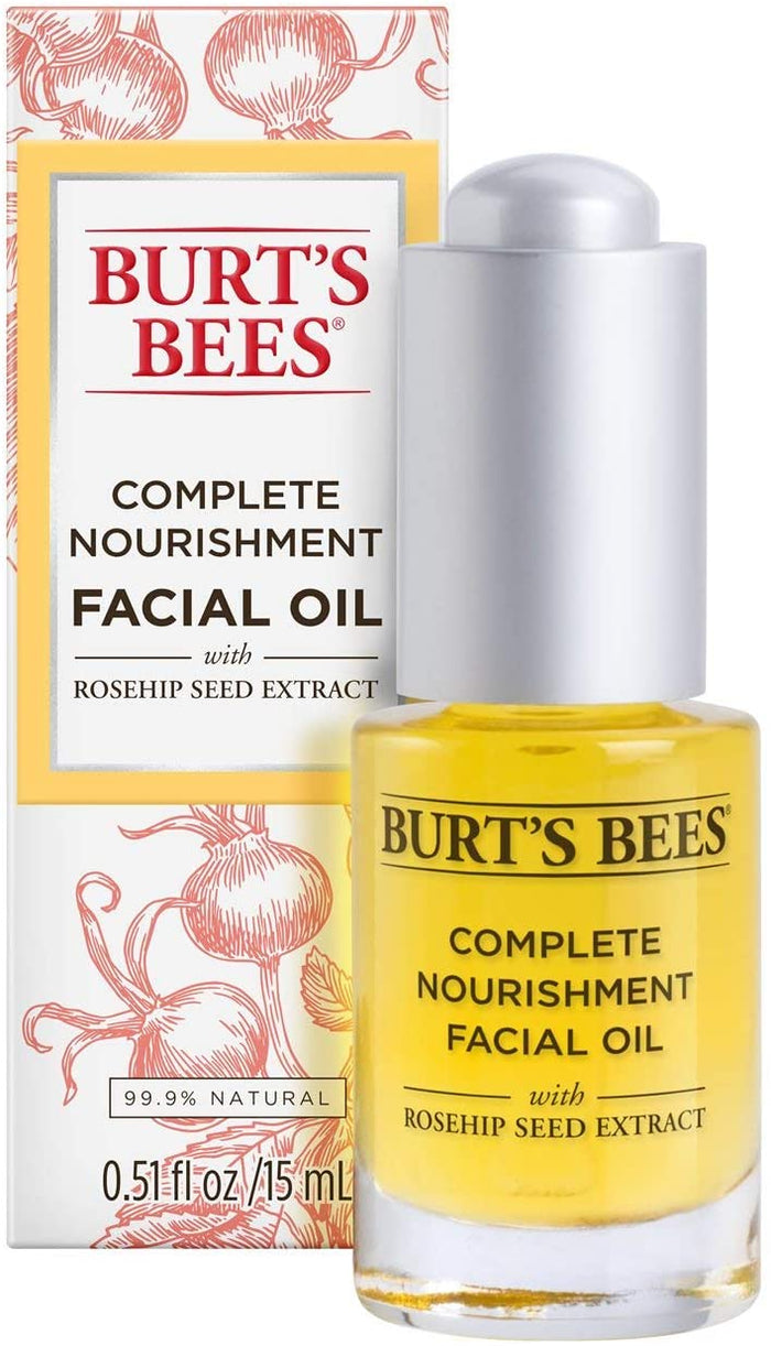 Burt's Bees Complete Nourishment Facial Oil, 15 ml