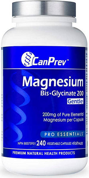CanPrev Magnesium Bis-Glycinate 200 mg Vegicaps