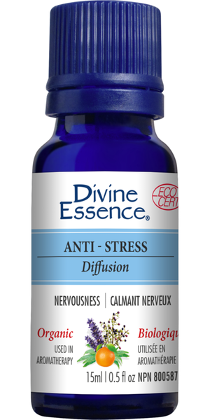 Divine Essence Anti-Stress-Blend (Organic), 30 ml