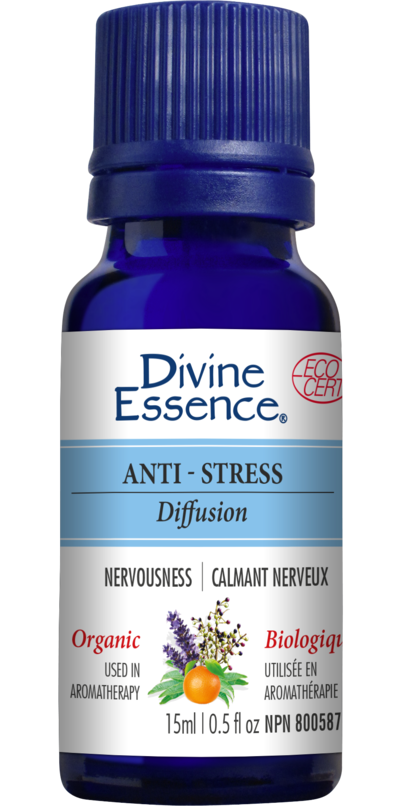 Divine Essence Anti-Stress-Blend Organic Oil, 30 ml