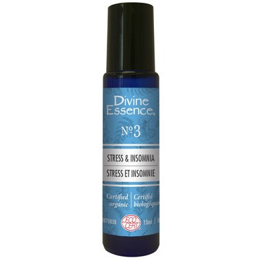 Divine Essence Stress & Insomnia Roll-on No.3, 15 ml