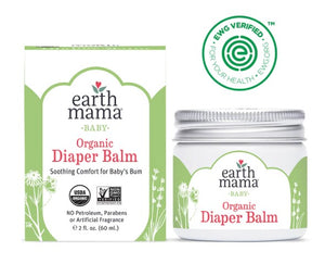 Earth Mama Organic Diaper Balm, 2 oz
