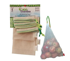 Eco Guardian Produce Bags - Pack of 4