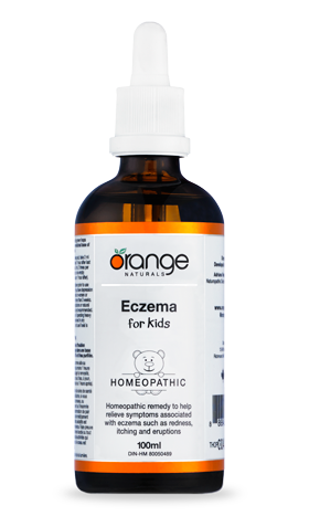 Orange Naturals Eczema (Kids) Homeopathic, 100 ml