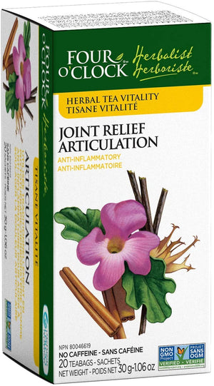 Four O'Clock Joint Relief Herbal Tea, 6x20 sachets