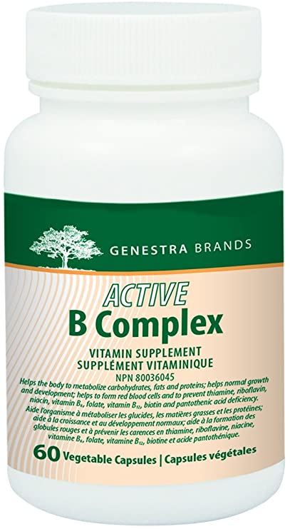 Genestra Brands Active B Complex, 60 vegicaps