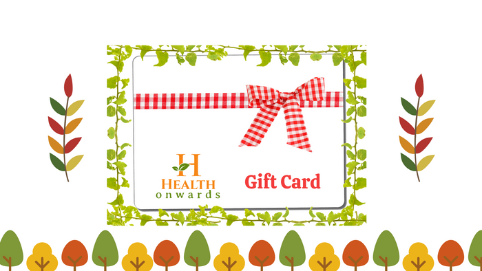 Health Onwards Gift Card