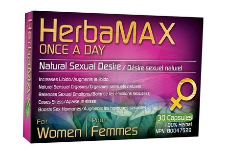 HerbaMAX For Women Once A Day, 30 caps