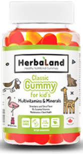Herbaland Classic Gummy for Kids: Multi, 60 Gummies