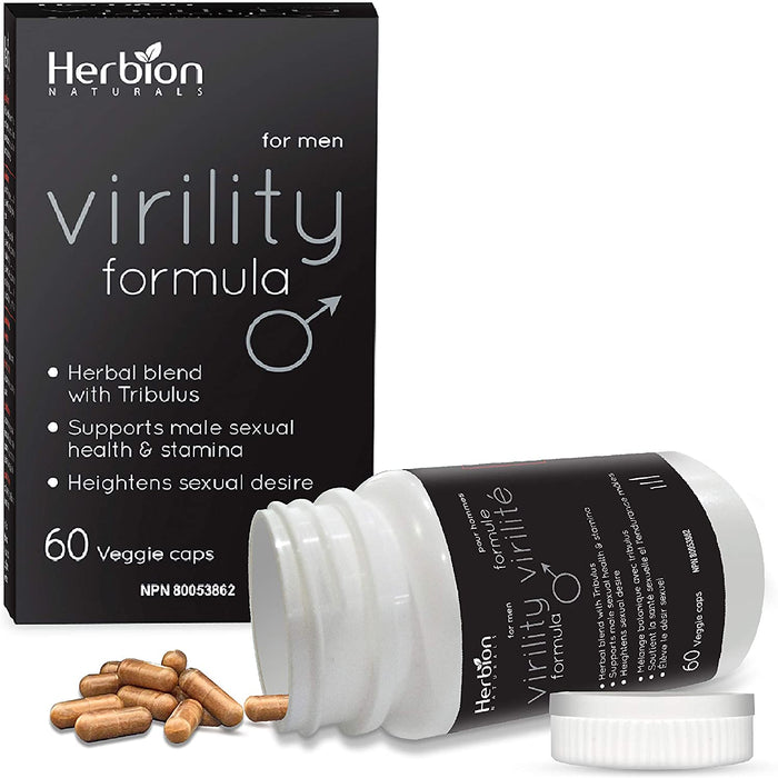 Herbion Virility Formula, 60 VegiCaps
