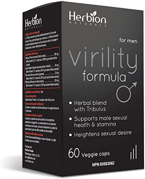 Herbion Canada Herbion Virility Formula, 60 Vcaps