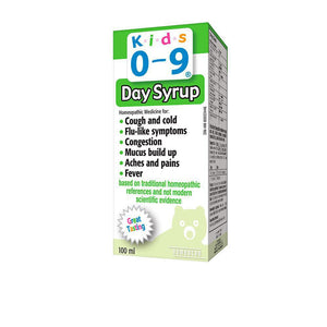 Homeocan Kids 0-9 Cough & Cold Daytime, 100 ml