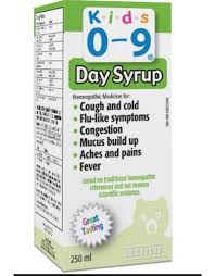 Homeocan Kids 0-9 Cough & Cold Daytime Syrup