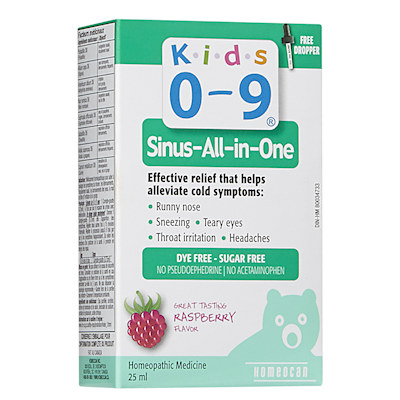 Homeocan Kids 0-9 Sinus-All-In-One Solution, 25 ml