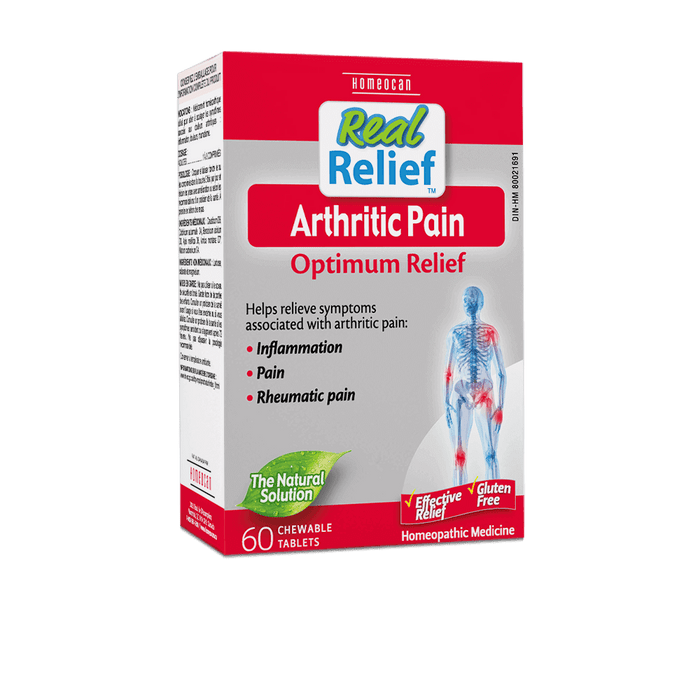 Homeocan Real Relief Arthritic Pain Tablets, 60 tabs