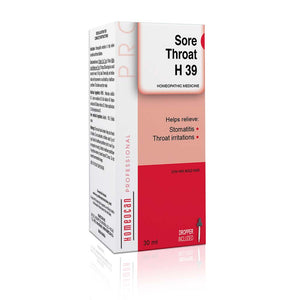 Homeocan H39 Sore Throat Drops, 30 ml