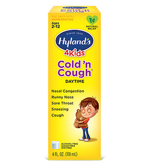 Hyland's 4KIDS All Day Syrup, 4 oz