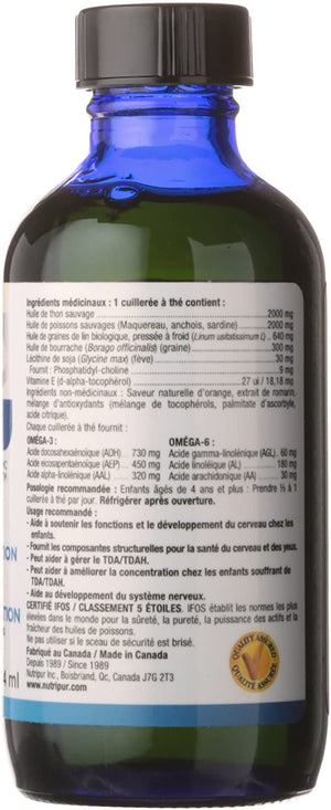 Medicinal Ingredients Nutripur Genius Kids and Teens, 114 ml