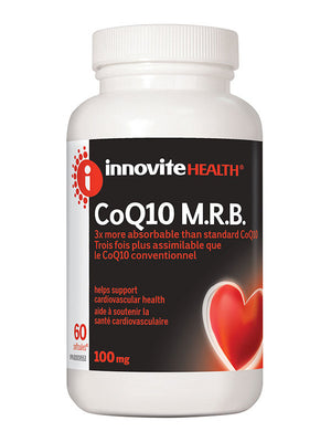 Innovite CoQ10 M.R.B. 100mg, 60 softgels