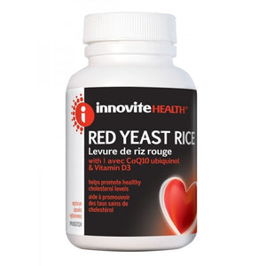 Innovite Red Yeast Rice 300mg, 60 Softgels