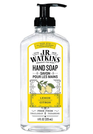 J R Watkins Lemon Hand Soap, 325 ml
