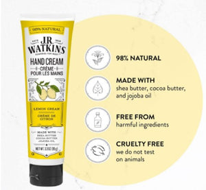 JR Watkins Lemon Hand Cream, 95 g