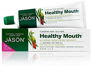 Jason Natural Healthy Mouth Toothpaste, 119 g