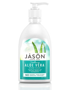 Jason Natural Aloe Vera Soothing Hand Soap, 473 ml