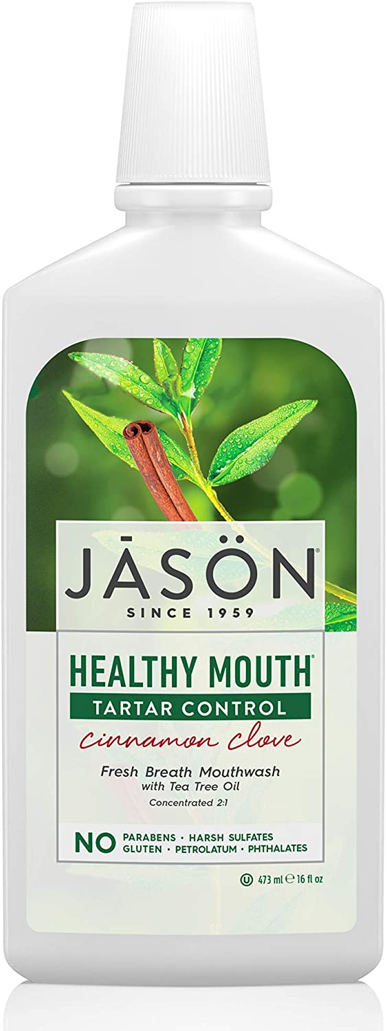 Jason Natural Products Healthy Mouth Mouthwash, 473 ml