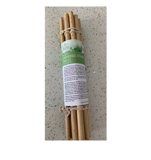 KMH Touches Bamboo Drinking Straws, 12 Count