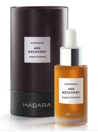 True Natural Madara SUPERSEED Age Recovery Facial Oil, For Skin 45+, 30 ml