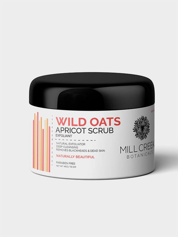 Mill Creek Wild Oats Apricot Scrub, 113 g