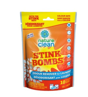 Nature Clean - Stink Bombs - Odour Remover, 10 Counts