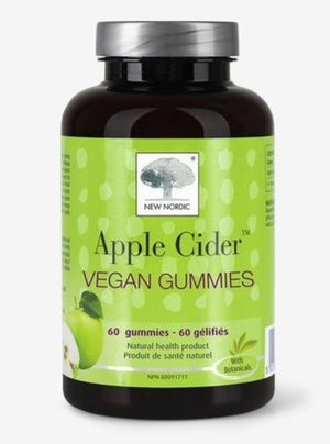 New Nordic Apple Cider Vegan Gummies, 60 gummies