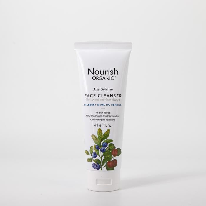 Nourish Organic Age Defense Face Cleanser, 118 ml