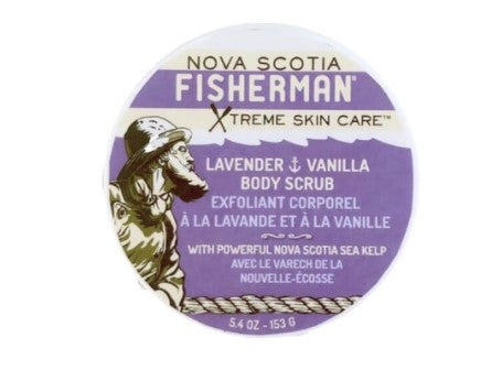 Nova Scotia Fisherman Salt-N-Sea Body Scrub - Lavender & Vanilla, 5.4 oz