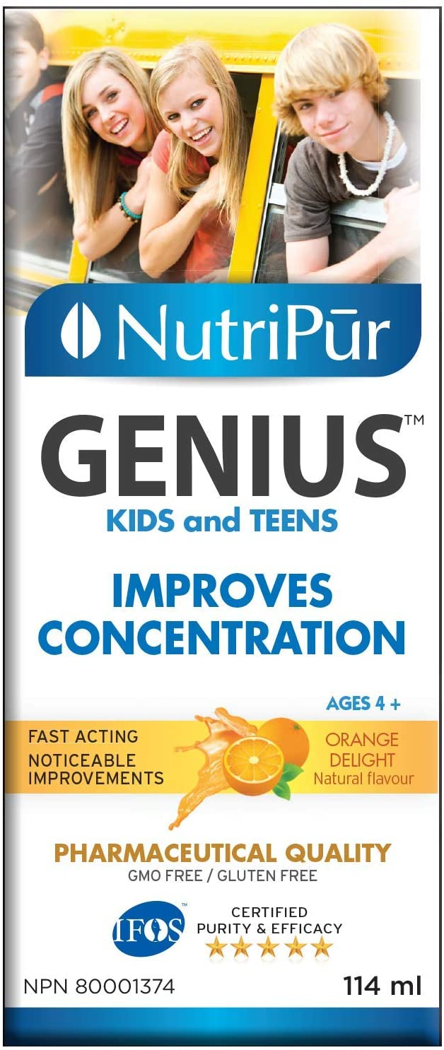 Nutripur Genius Kids & Teens Liquid, 114 ml