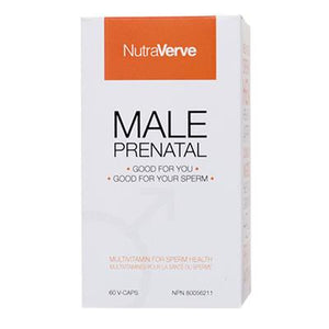 NutraVerve Nutritionals Male Prenatal, 60 caps