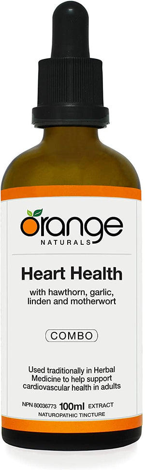 Orange Naturals Heart Health Tincture, 100 ml