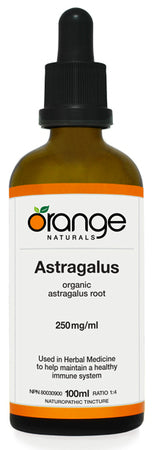 Orange Naturals Astragalus Tincture, 100 ml
