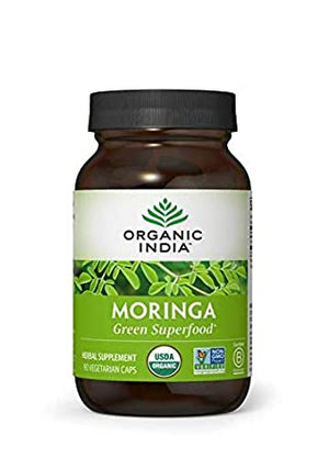 Organic India Moringa, 90 caps