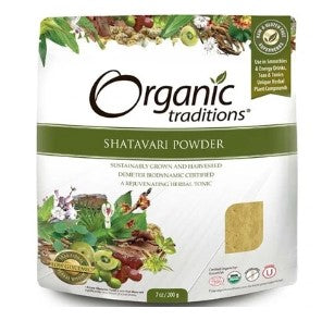 Organic Traditions Shatavari Powder, 200 g