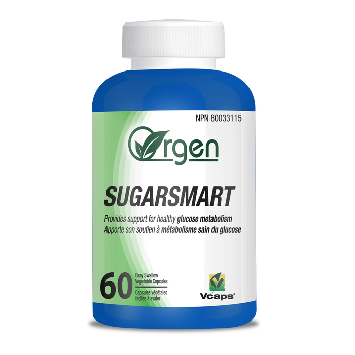 Orgen Sugar Smart, 60 VegiCaps