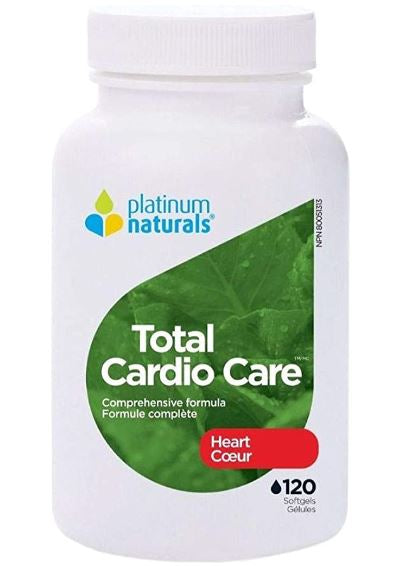 Platinum Naturals Total Cardio Care, 120 Softgels