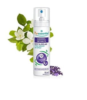 Puressentiel Rest & Relax Air Spray - 12 E.Oils, 75 ml