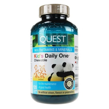 Quest Kid's Daily One 120 Chewable Tablets